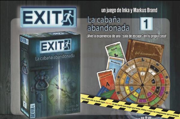 Exit juego scape room