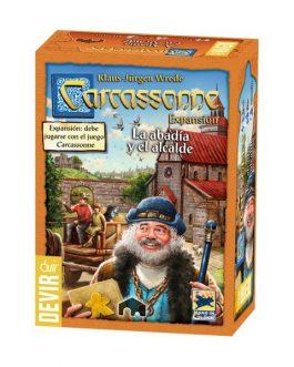 Carcassonne: la Abadia y el alcalde 2da Edicion