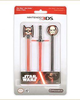Nintendo 3ds Stylus 3 Pack