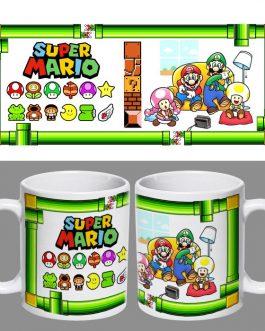 Tazón Retro Super Mario