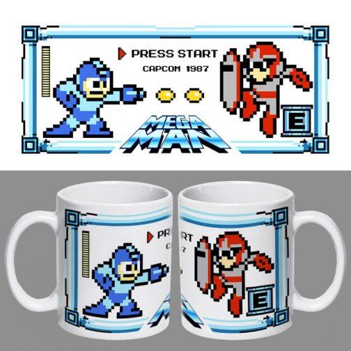 Tazón Mega Man