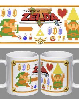 Tazón Retro Zelda
