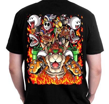Polera Super Mario Bros Deluxe