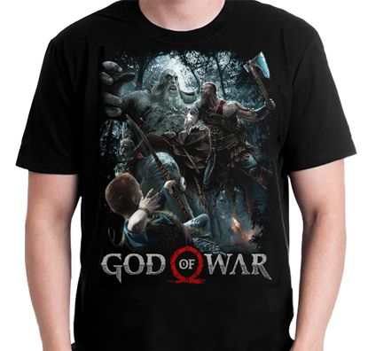 Polera God of War
