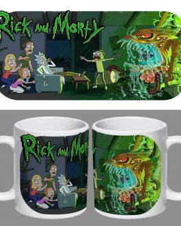 Tazón Premium Rick and Morty