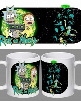Tazón Premium Rick And Morty