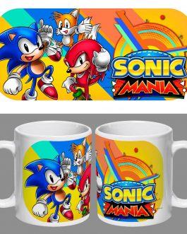 Tazón Premium Sonic Mania