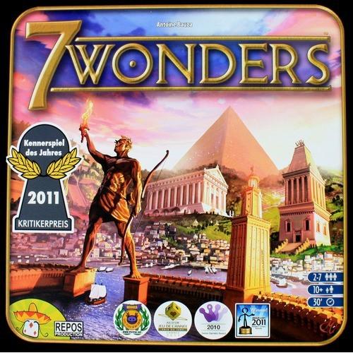 juego de mesa 7 wonders
