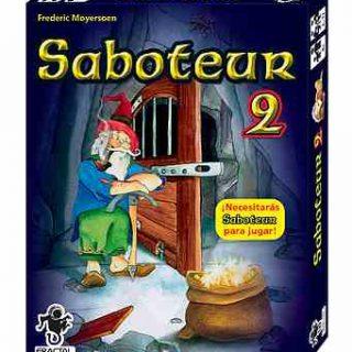 Juego de cartas Saboteur