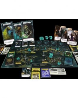 Juego de Mesa Pandemic el reino de Cthulhu