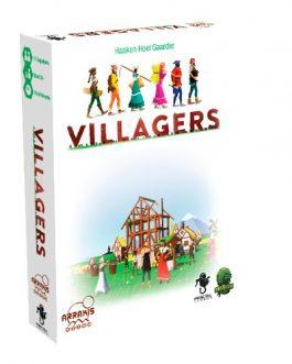 Villagers juego de cartas fractal