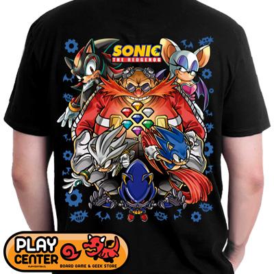 Polera Sonic de Hedgehog