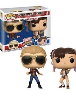 Funko Pop Capcom Vs Marvel -Captain vs Chun-li