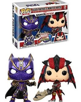 Black Panther Vs Monster Hunter: Funko Pop. X Marvel Vs Capcom