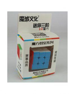 MoFang JiaoShi Llavero 3×3 Mini 30m