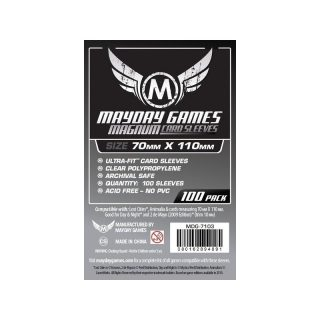 Mayday Magnum Silver (Q): 70 x 110 mm