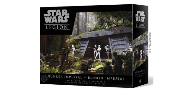 Juego de Mesa Star Wars Legion: Búnker Imperial