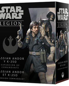 Juego de Mesa Star Wars Legion: Cassian Andor y K-2SO