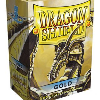 Protectores Dragon Shield Classic - Dorado x100