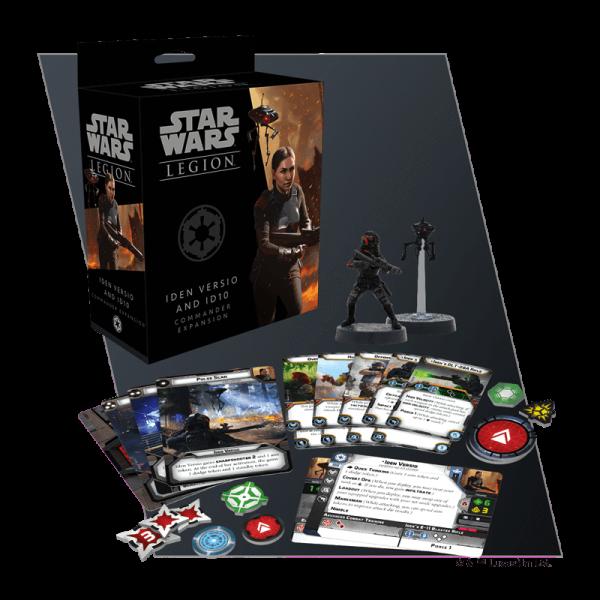 Juego de Mesa Star Wars Legion: Iden Versio e ID10 Expansión de Comandante