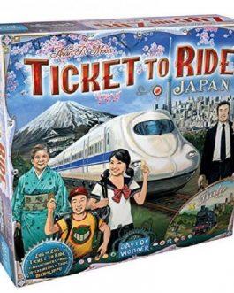 Juego de Mesa Aventureros al tren: Japon - Italia