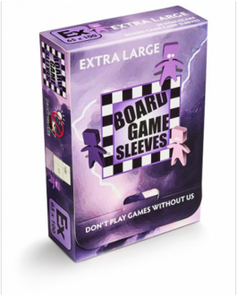 Board Game Sleeves Extra Large 65×100 Non Glare 50