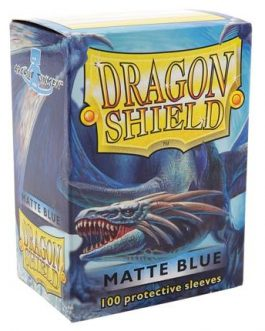 Protectores Dragon Shield Matte – Azul