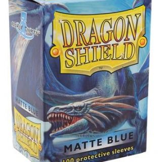 Protectores Dragon Shield Matte - Azul