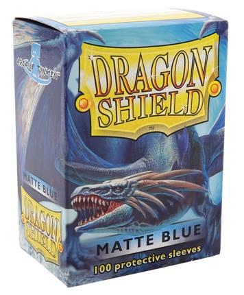 Protectores Dragon Shield Matte - Azul