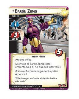 Juego de Mesa Marvel Champions: Capitan America