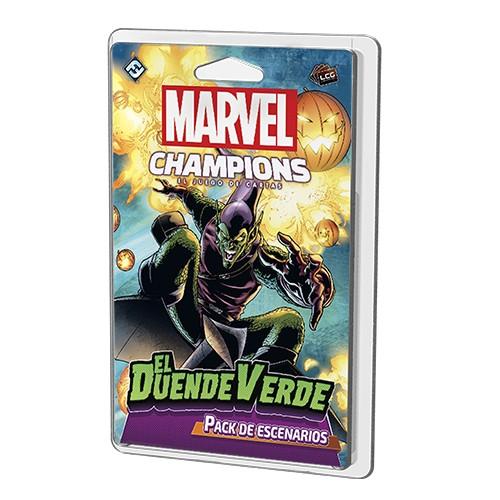 Juego de Mesa Marvel Champions: El Duende Verde