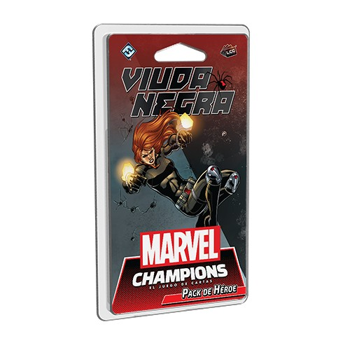 Juego de Mesa Marvel Champions: Viuda Negra