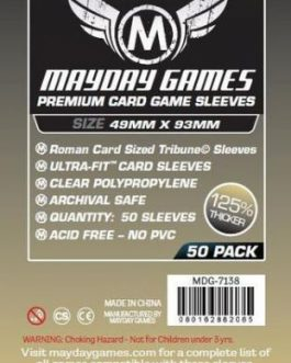 Mayday Roman Tribune Premium : 49 x 93 mm