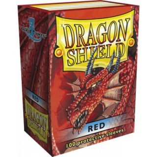 Protectores Dragon Shield Classic Rojo