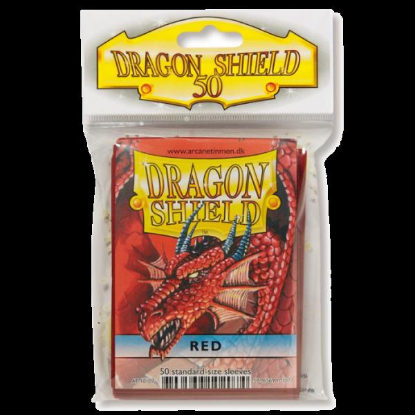 Protectores Dragon Shield Rojos x50