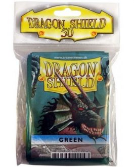 Protectores Dragon Shield Verdes x50