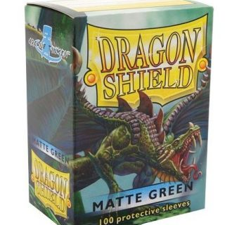 Protectores Dragon Shield Matte - Green