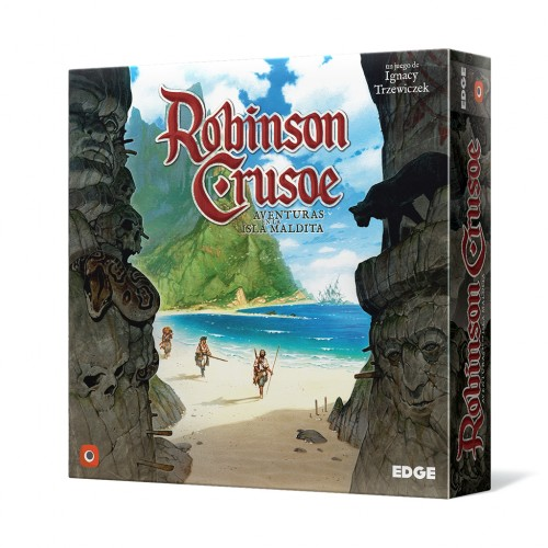 Juego de Mesa Robinson Crusoe: Aventuras en la isla maldita