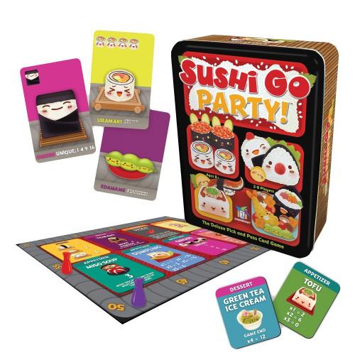 Juego de Mesa Sushi Go Party