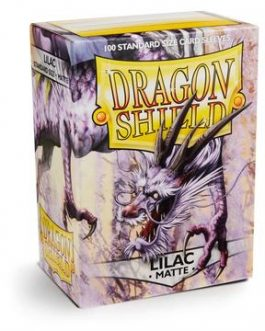 Protectores Dragon Shield MATTE Sleeves (100) – Lilac