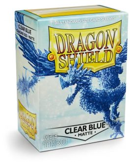 Protectores Dragon Shield MATTE Clear Blue (Transparentes)