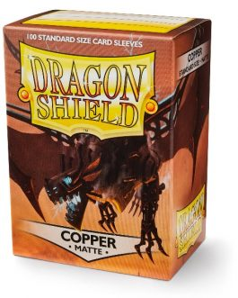Protectores Dragon Shield MATTE – Copper