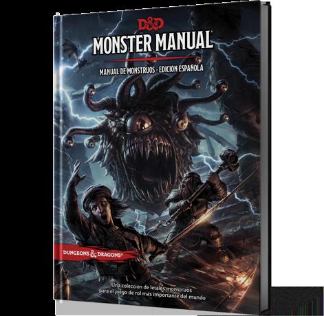 Dungeons & Dragons: Manual de Monstruos Edición Española