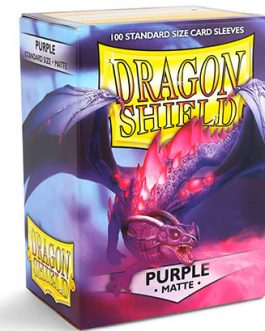 Protectores Dragon Shield MATTE – Purple