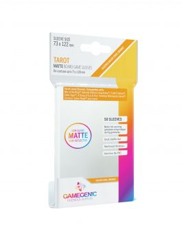 Protectores GameGenic MATTE BG Sleeves – Tarot (73 x 122 mm)