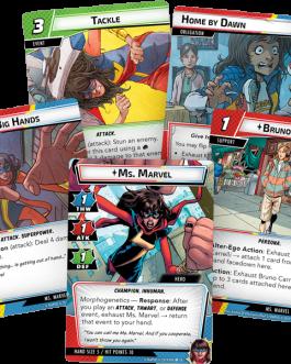 Juego de Cartas  Marvel Champions: Ms. Marvel