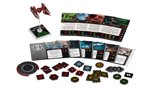 X-Wing 2nd Ed: TIE del Mayor Vonnreg
