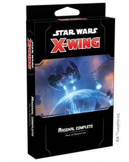X-Wing 2nd Ed: Arsenal completo