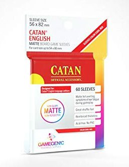 GG: MATTE BG Sleeves – Catan US (56 x 82 mm)