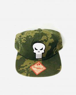 Gorra Punisher militar